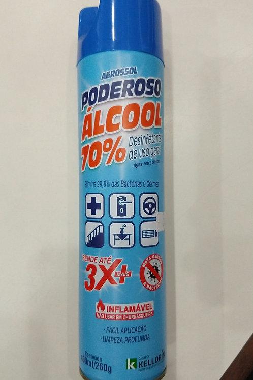 Aerossol Poderoso álcool 70%