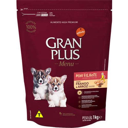 GranPlus Menu Raças Pequenas Frango e Arroz para Cães Filhotes