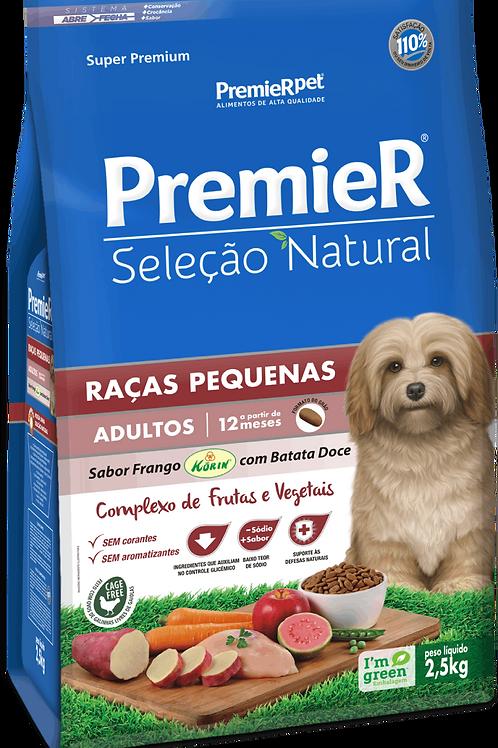 Premier Seleção Natural Cães Adultos Raças Pequenas Frango Korin com Batata Doce