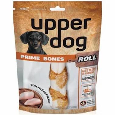 Petisco Upper Dog Prime Bones Roll Para Cães