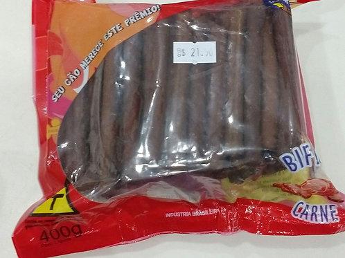 Bifinho em forma de palito 400g carne ou Frango