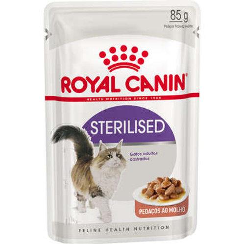 Royal Canin Sachê Feline Sterilised para Gatos Castrados