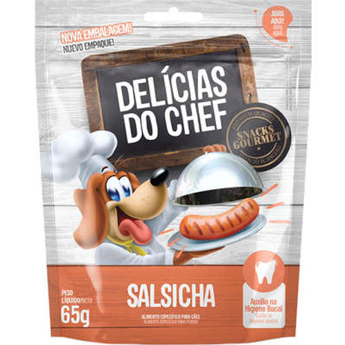 DELÍCIAS DO CHEF SABOR SALSICHA 65g