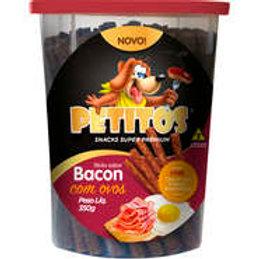 PETITOS STICK SABOR BACON COM OVOS 350g
