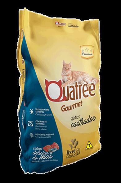 Quatree Gourmet Gatos Castrados Delícias do Mar 1kg