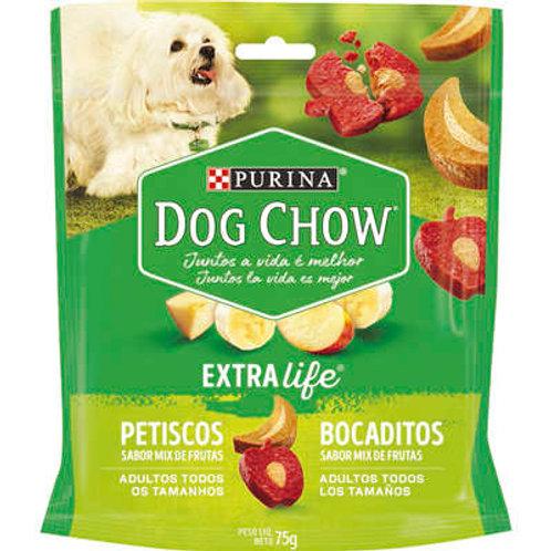 Petisco Nestlé Purina Dog Chow Extra Life Mix de Frutas para Cães Adultos