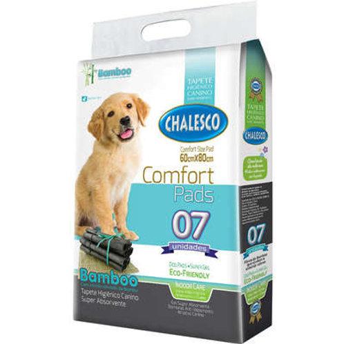 Tapete Higiênico Chalesco Comfort Bamboo para Cães c/7 unidades