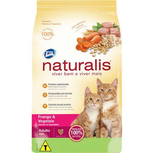 Naturalis Frango e Vegetais para Gatos Adultos