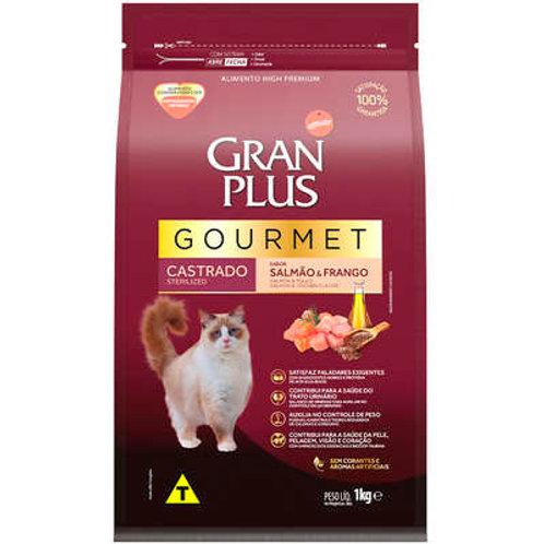 GranPlus Gourmet Salmão & Frango para Gatos Castrados