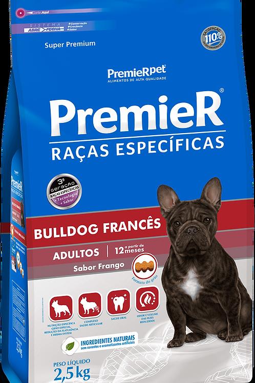 Premier BULLDOG FRANCÊS ADULTOS SABOR FRANGO