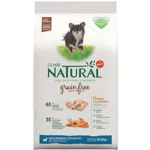 Guabi Grain Free Frango e Lentilha para Cães Adultos Raças Mini e