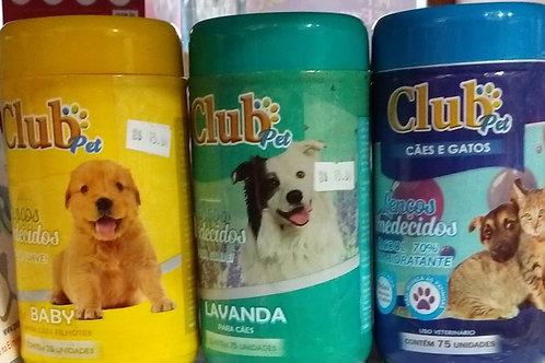 Lenço umedecido Club Pet