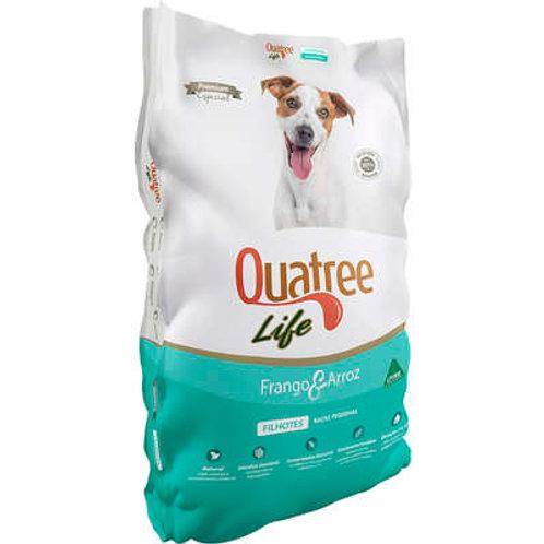 Ração Quatree Life Frango e Arroz Cães Filhotes Raças Pequenas 1kg