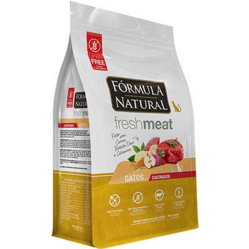 Fórmula Natural Fresh Meat Carne para Gatos Castrados