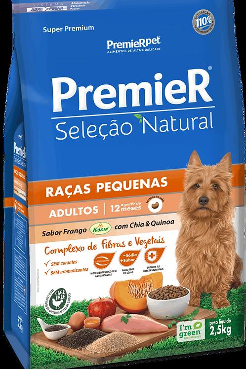 Premier Seleção Natural Frango Korin com Chia & Quinoa Cães Adultos Raças Pequen