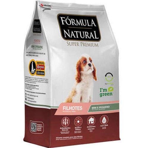 Fórmula Natural Super Premium para Cães Filhotes Raças Minis e Pequenas
