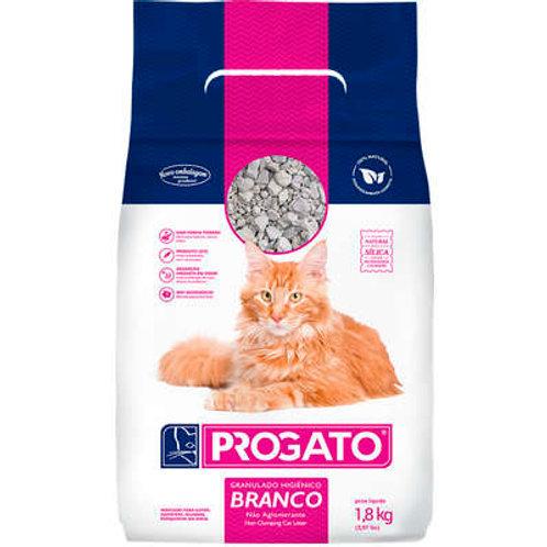 Areia pro gato granulado higiênico branco