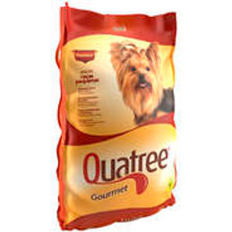 Quatree gourmet cão adulto raça pequena 3kg