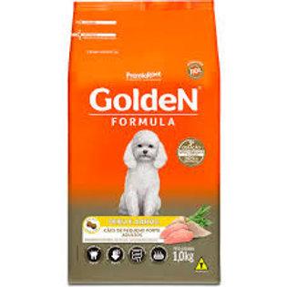 Golden para Cães Adultos de Porte Pequeno Sabor Peru e Arro