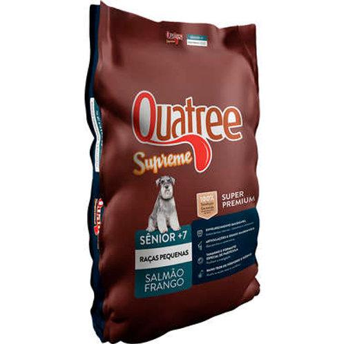 Ração Quatree Supreme Salmão e Frango Cães Sênior +7 Raças Pequenas 1kg