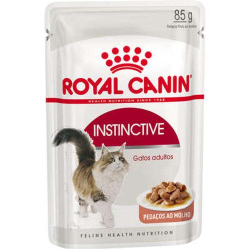 Royal Canin Sachê Feline Instinctive para Gatos com idade acima de 12 meses