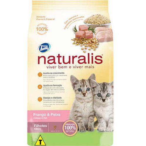 Naturalis Frango e Peixe para Gatos Filhotes 1KG OU10KG