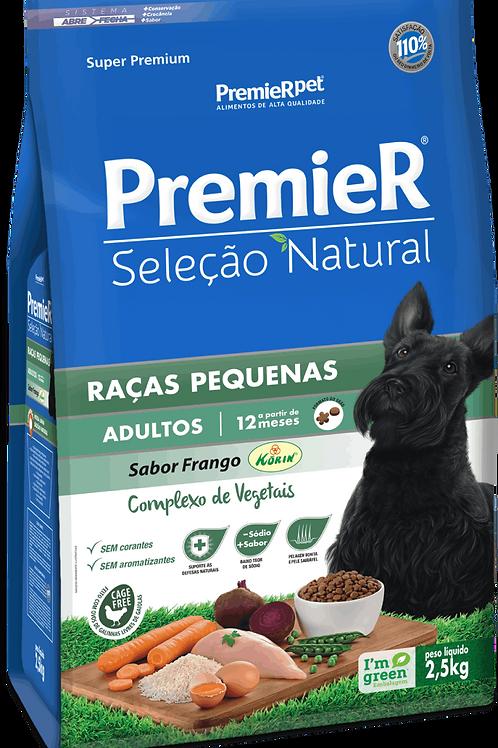 Premier Seleção Natural para Cães Adultos de Raças Pequenas