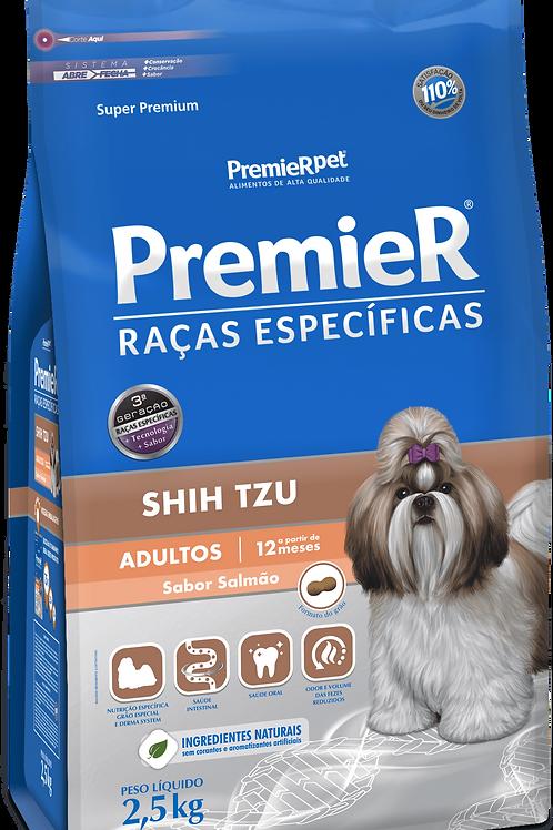 Premier Pet Raças Específicas Salmão Shih Tzu Adulto