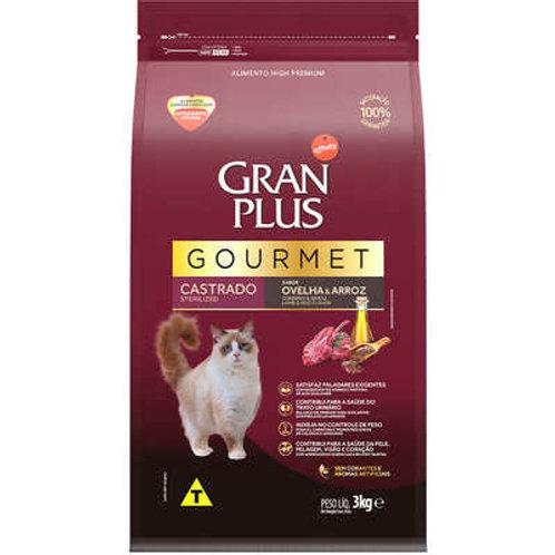 GranPlus Gourmet Ovelha & Arroz para Gatos Castrados