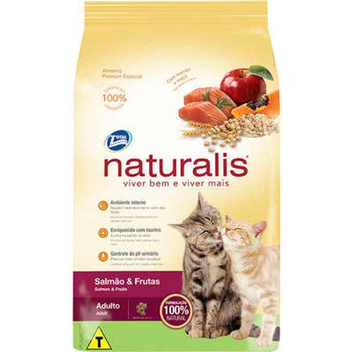 Naturalis Salmão e Frutas para Gatos Adultos