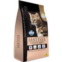 Matisse Salmão para Gatos Adultos Castrados