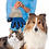 Thumbnail: Luva tira pelo para cães e gatos