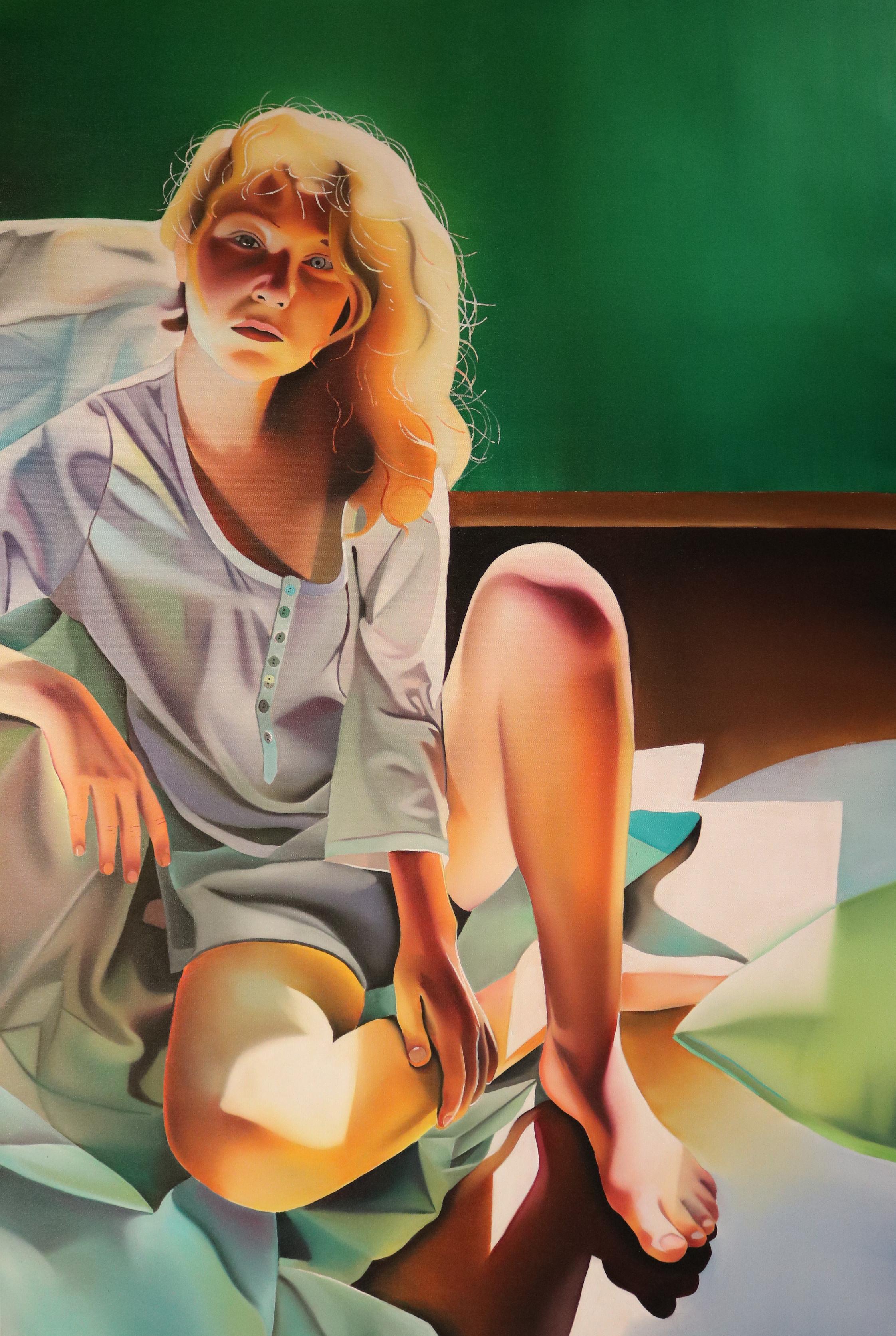 Słoneczna ja, 150x100, oil, 2016