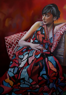 Sifat, 140x100cm, oil, 2014