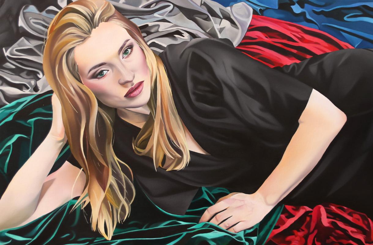 Catherine, 80x120cm, oil,2019