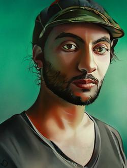 Javad, 80cmx60cm, oil, 2012