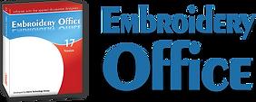 לוגו ואריזת מוצר של תוכנת EMBROIDERY OFFICE
