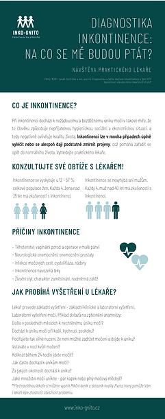 Návštěva praktického lékaře diagnostika inkontinence
