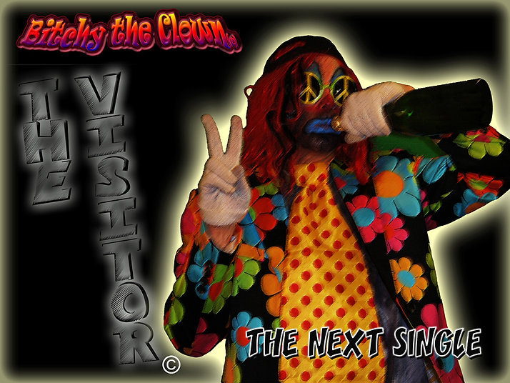 bitchy the clown the visitor single art