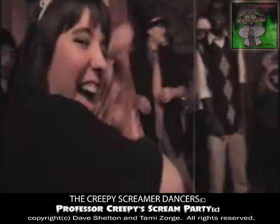 Behind the scenes Prof Creepy dancers 1