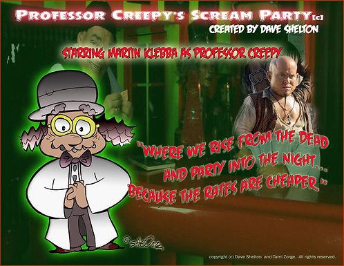 professor creepy cartoon where we rise f