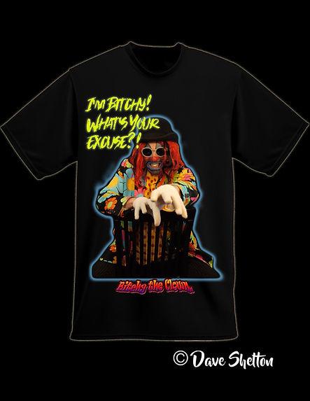 bitchy the clown t shirt sample 2 im bit