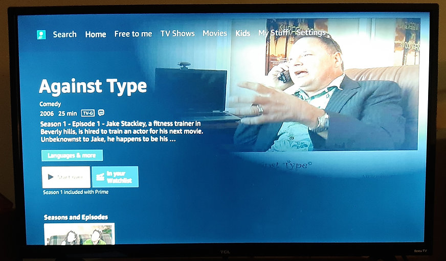against type amazon tv key art logo scre