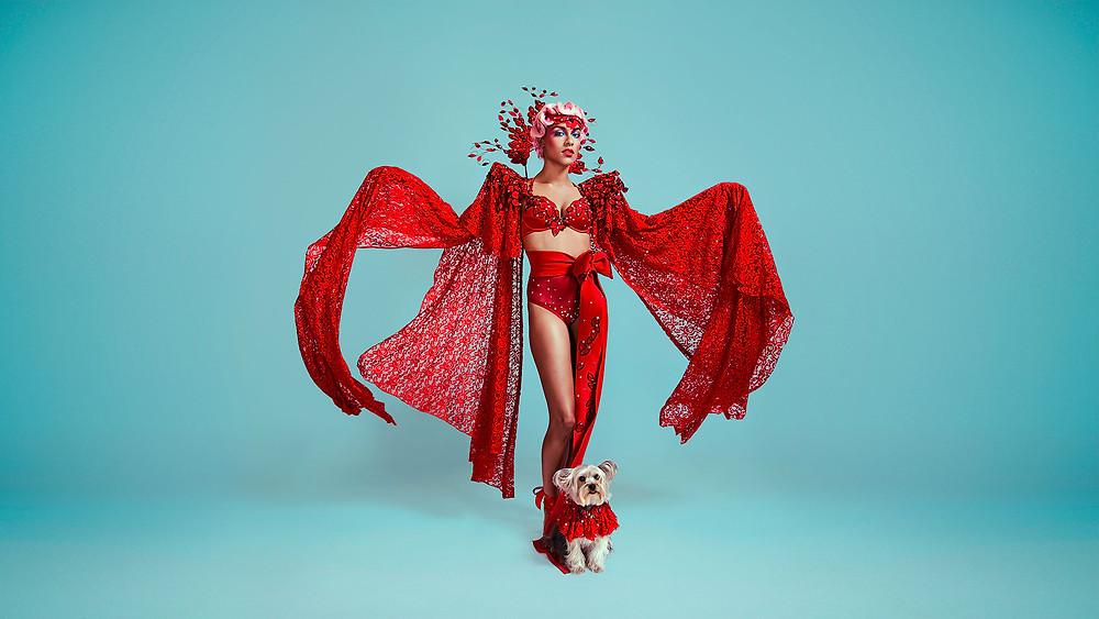 Scarlet designed by Atiba Borde