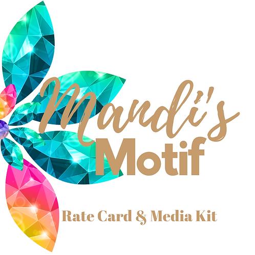 Rate Card & Media Kit