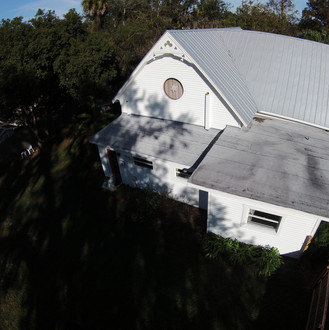 Low Slope Roof, Menzel Roofing Services,