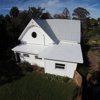 Menzel Roofing Services, Porch roof leak