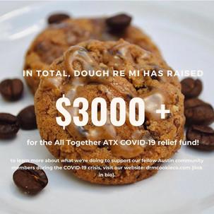 donation milestone!
