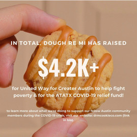 total donation amount!
