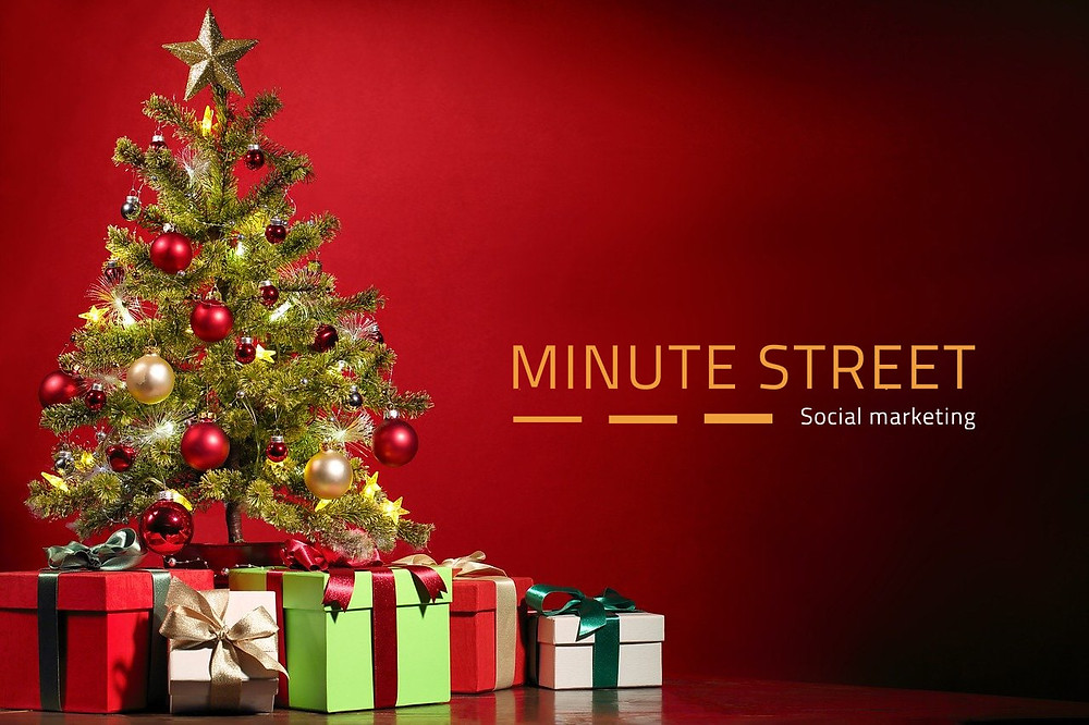 Le street marketing à Noël